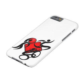 運動スポーツのトライアスロンの競争カバー BARELY THERE iPhone 6 ケース