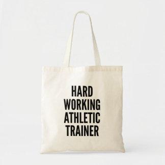 運動トレーナーを働かせる懸命 トートバッグ