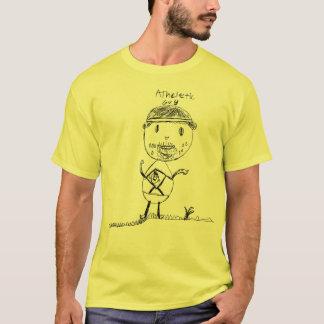運動人 Tシャツ