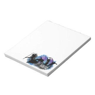 運動競技のメモ帳 ノートパッド