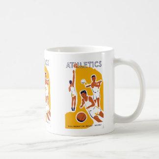 運動競技 コーヒーマグカップ