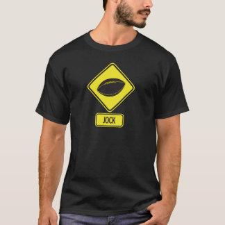 運動選手の人の基本的な暗闇 Tシャツ