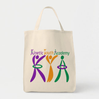 運動青年アカデミーの食料雑貨のトート トートバッグ