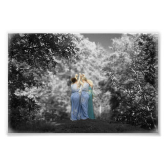 運命およびFaeryの女王のダンス ポスター