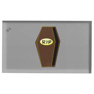 運命のテーブルカードホルダーの裂け目のハロウィンの棺 テーブルカードホルダー
