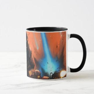 運命のマグの夜明け マグカップ