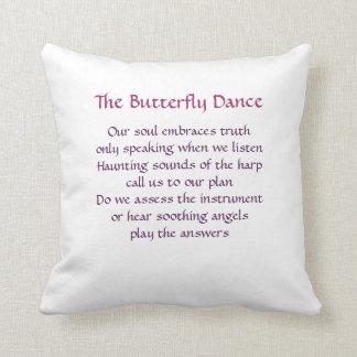 運命の枕-蝶ダンス クッション