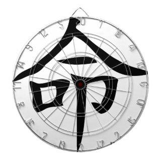 運命の漢字 ダーツボード