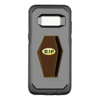 運命の電話箱の裂け目のハロウィンの棺 オッターボックスコミューターSamsung GALAXY S8 ケース