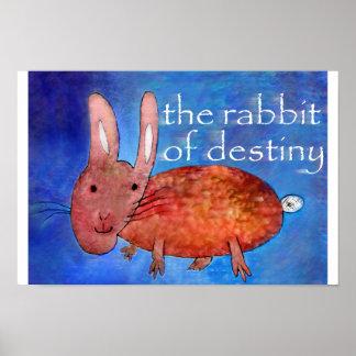 運命[ポスター]のウサギ ポスター