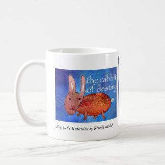 運命[マグ]のウサギ コーヒーマグカップ