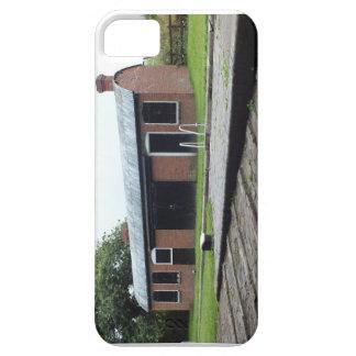 運河の建物のiPhoneかiPodの箱 iPhone SE/5/5s ケース