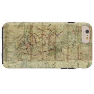 運河のdu Nordの戦闘地図の第1次世界大戦の戦い Tough iPhone 6 Plus ケース