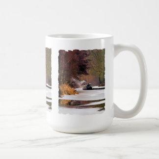 運河ボート コーヒーマグカップ