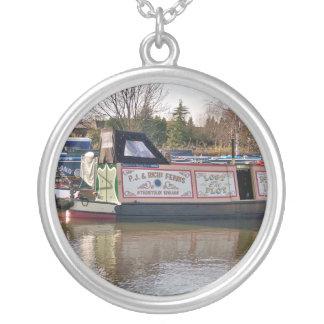運河 シルバープレートネックレス