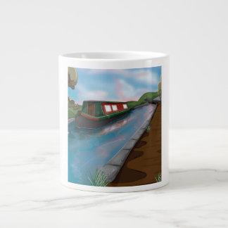 運河 ジャンボコーヒーマグカップ