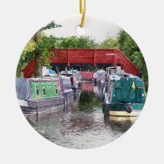 運河 セラミックオーナメント