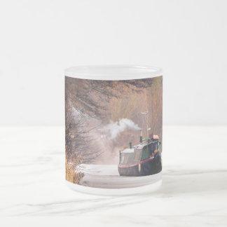 運河 フロストグラスマグカップ