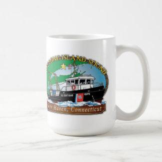 運行Long Island SoundへのUSCGの援助 コーヒーマグカップ