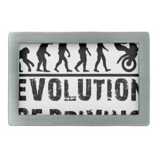 運転の進化 長方形ベルトバックル