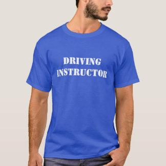 運転インストラクター Tシャツ