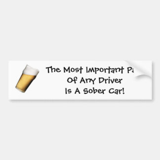 運転者の重要な部分… バンパーステッカー