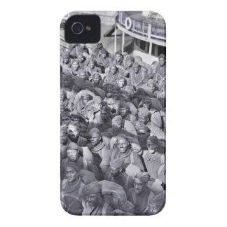 運送船のWWIの黒い兵士 Case-Mate iPhone 4 ケース