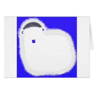 過ぎ越しの祝いの子ヒツジの最も若いPesachの挨拶状 カード