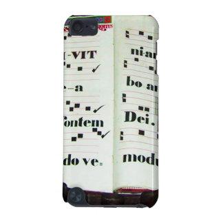 過去からの音楽スコア iPod TOUCH 5G ケース