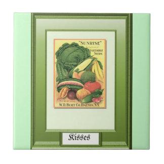 過去の種; 野菜類別 タイル
