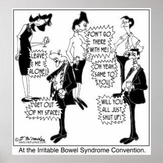 過敏性腸症候群の大会 ポスター