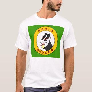 過激なアナグマの生産 Tシャツ