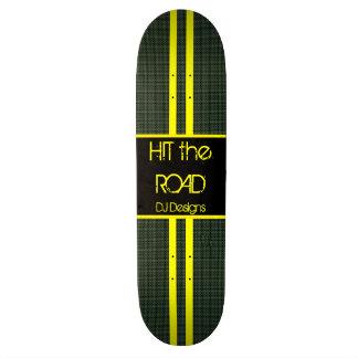 道に当って下さい 20.6CM スケートボードデッキ