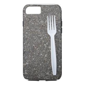 道のおもしろいなiPhoneの場合のフォーク iPhone 7ケース