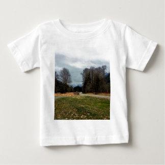 道のオリンピック国立公園のフォーク ベビーTシャツ