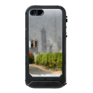 道の側面に沿う厚い薮 ウォータープルーフiPhone SE/5/5sケース