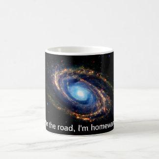 道の家。 宇宙、銀河系の空想科学小説 コーヒーマグカップ
