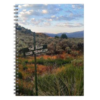 「道の旅行者が少ない」印山Desertscape ノートブック