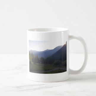 道の日の出 コーヒーマグカップ