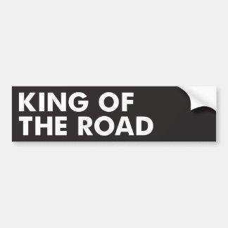 道の王 バンパーステッカー