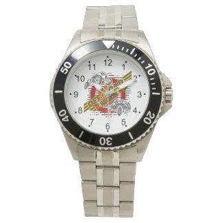 道の麻薬常習者4x4を離れて 腕時計