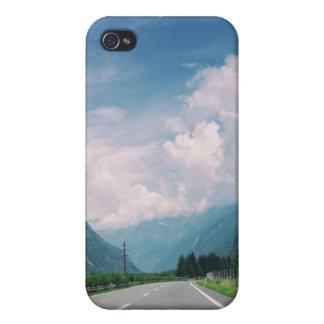 道のiPhone 4の光沢のある終わりの場合 iPhone 4/4Sケース