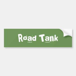 道タンク バンパーステッカー