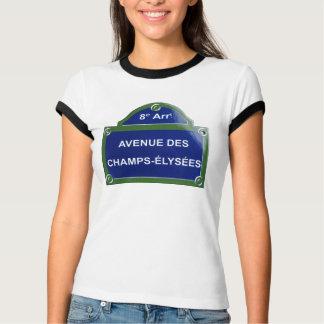 道チャンピオンelysees tシャツ