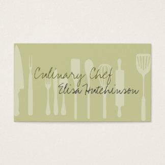 道具料理用のシェフの名刺 名刺