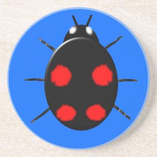 道化師のてんとう虫のコースター コースター