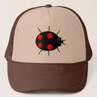 道化師のてんとう虫の帽子 キャップ