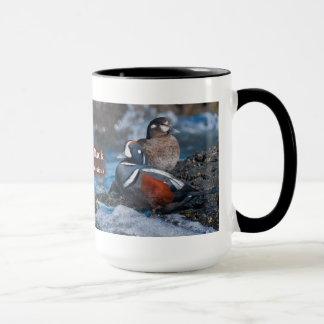 道化師のアヒル マグカップ