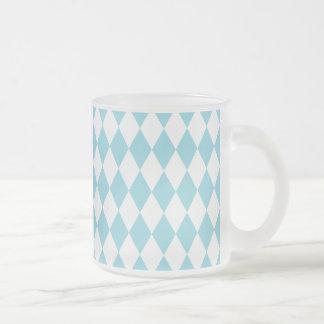 道化師の空および白 フロストグラスマグカップ
