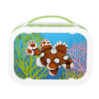 道化師のSweetlipsの珊瑚礁の魚のランチボックス ランチボックス